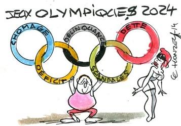 L'horreur olympique ...