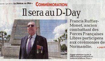 6 Juin - Les échos du D-Day vus de la D.F.L Sud...