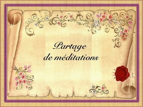 Rondes de méditations : sommaire