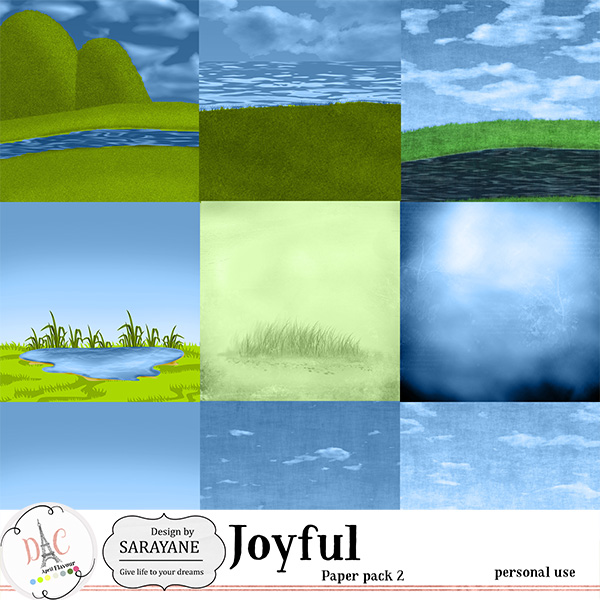 Joyful {PU papers 2} by Sarayane