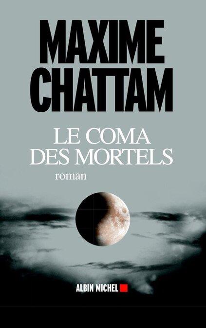 Couverture du prochain roman de Maxime Chattam @ChattamMaxime (Sortie 1er juin)
