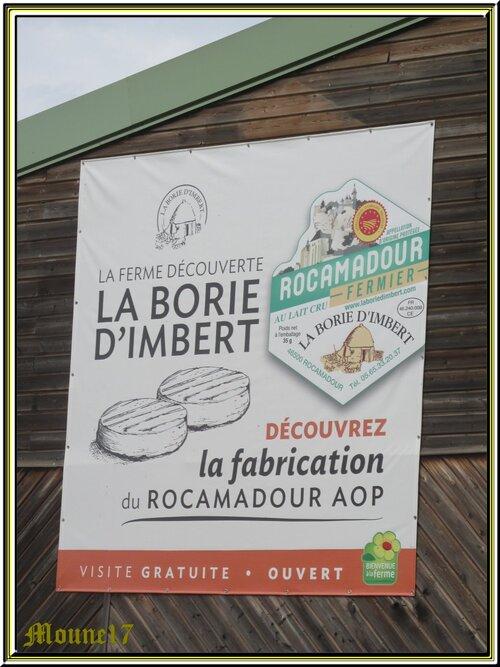 Ferme de la Borie d'Imbert à Rocamadour (lot)