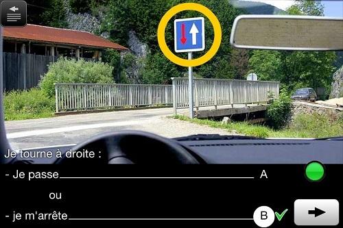Examen code de la route