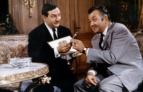 Deux montres sacrés du théâtre : Jacques Charon et Jean Richard