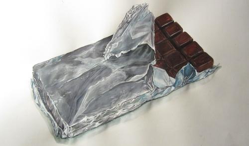 Etude doc - tablette de chocolat-