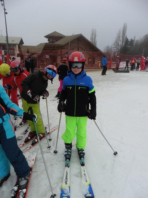 le ski  c'est la classe!