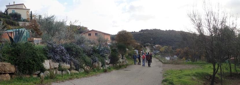 chemin de ronde des collines d'Usclas du Bosc