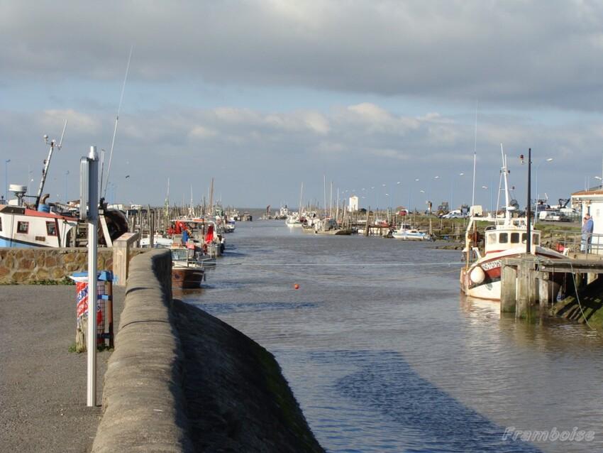 Port du Bec à Bouin