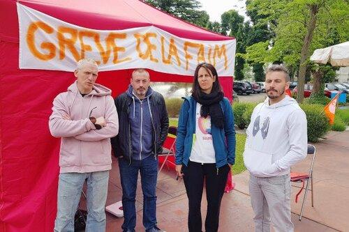 Hôpital du Rouvray : les grévistes en danger !