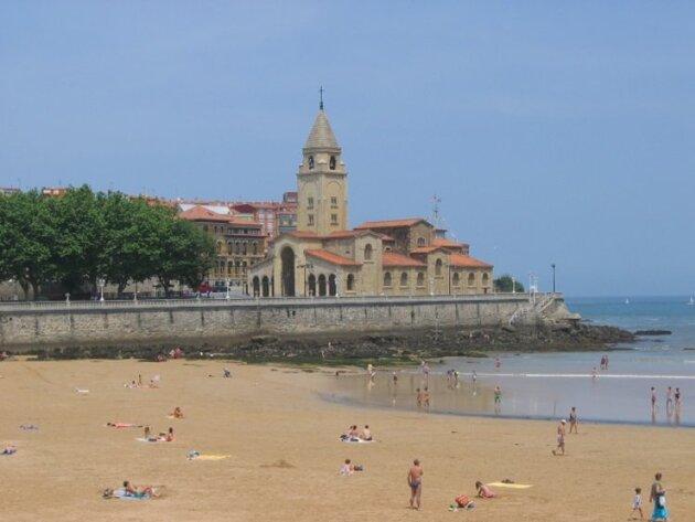 Gijon dans les Asturies
