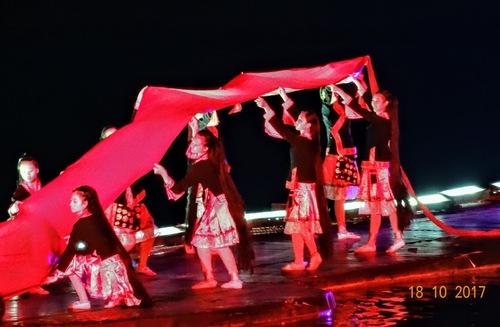 Yangshuo; suite du spectacle;