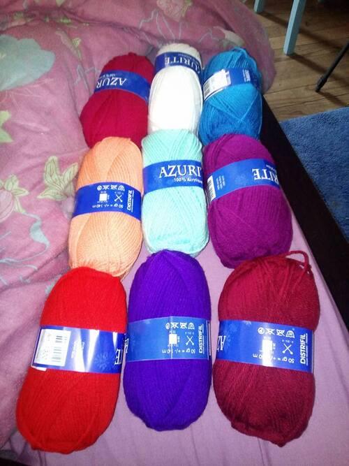 les dons de laine et coton