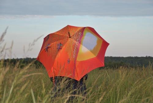 Parapluie en Belgique...