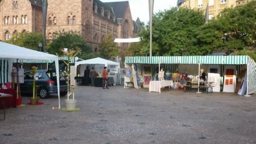 Journées du patrimoine place de la gare (18 septembre 2010)