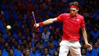 Rien ne pouvait perturber Federer