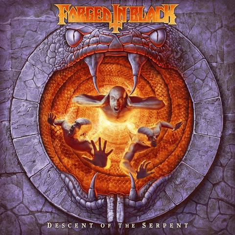 FORGED IN BLACK - Les détails du nouvel album Descent Of The Serpent
