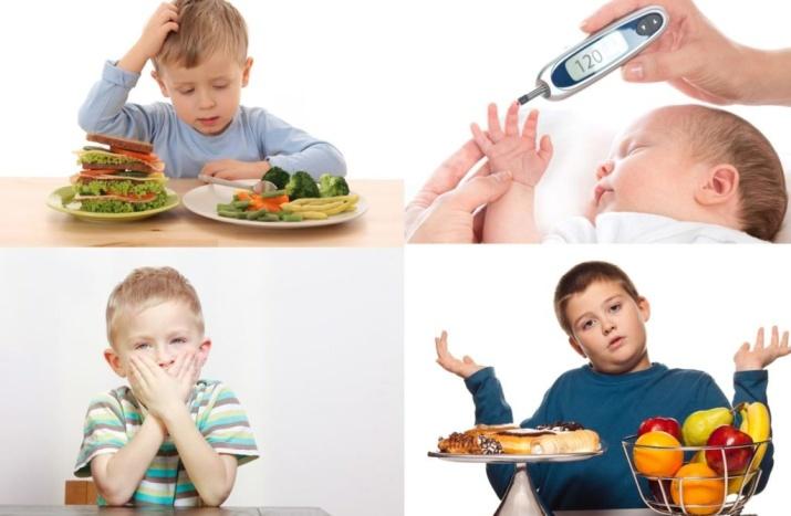 Снизить сахар в крови детям