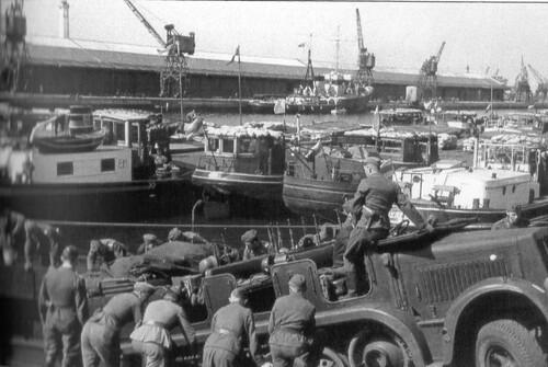 Calais, base pour l'opération Seelöwe, 1er partie
