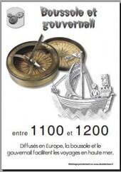 1100 - 1200 Boussole et Gouvernail