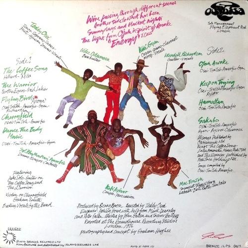 "1976 : Album "" Ojah Awake "" Bronze Records ILPS 9411 [ UK ]"