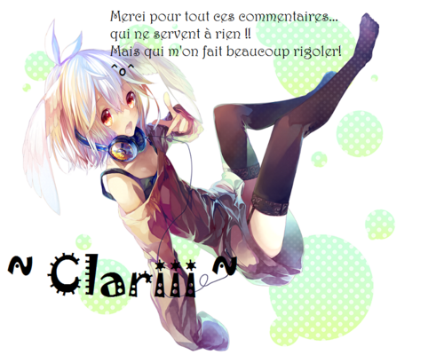 ~For Clariii~