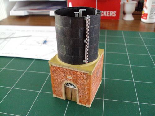 Un château d'eau