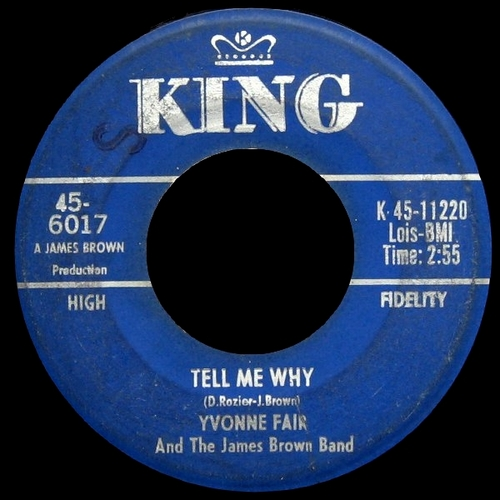 Yvonne Fair & The James Brown Band : Single SP King Records 45-6017 [ US ]