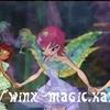 Layla, tecna et Bloom Harmonix