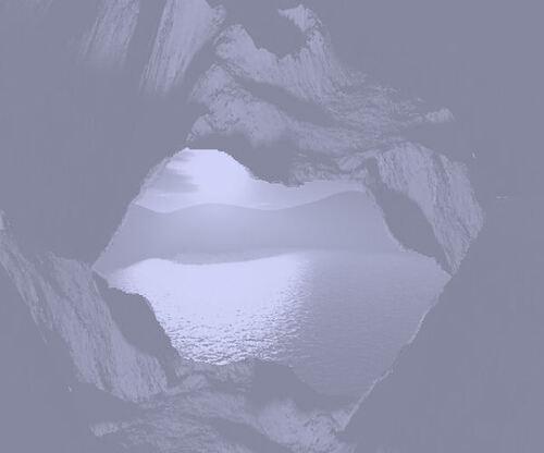 Des paysages fond Violet