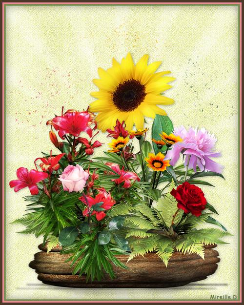 Bouquet Composé pour l'Été