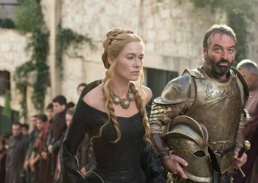 Les robes de deuil de Cersei