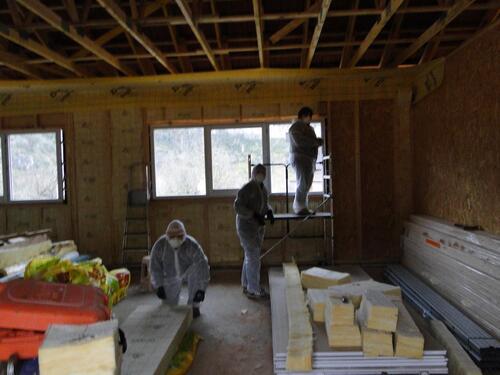 De nouveaux ouvriers sur le chantier !