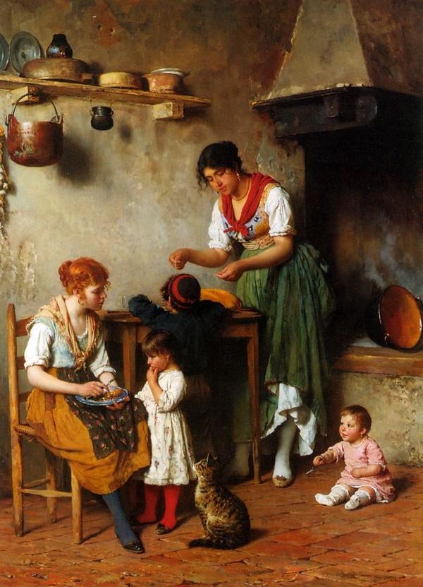 Peinture de : Eugène de Blass