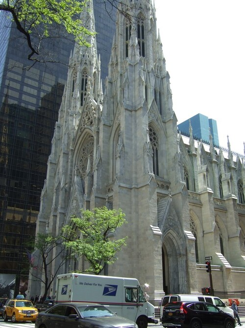 NEW YORK 2016- Jour 3- Cathédrale St Patrick