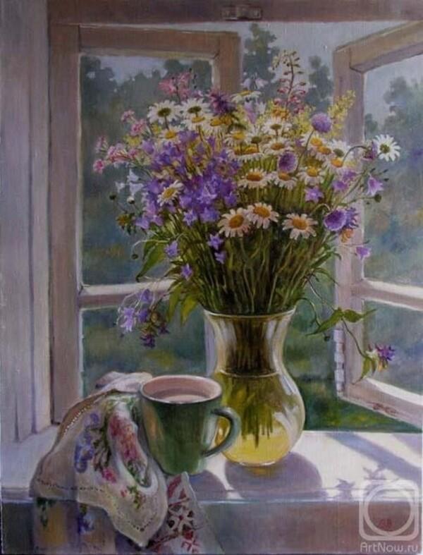 Peinture de : Elena Shumakova