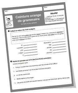 Ceintures de grammaire CM : un nouvel exemple de cyber-coopération.