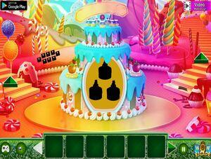 Jouer à Candy world boy escape