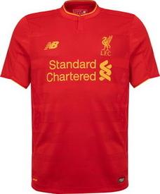 Nouveau Maillot de foot Liverpool 2016/2017