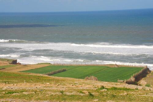 L'océan écumant