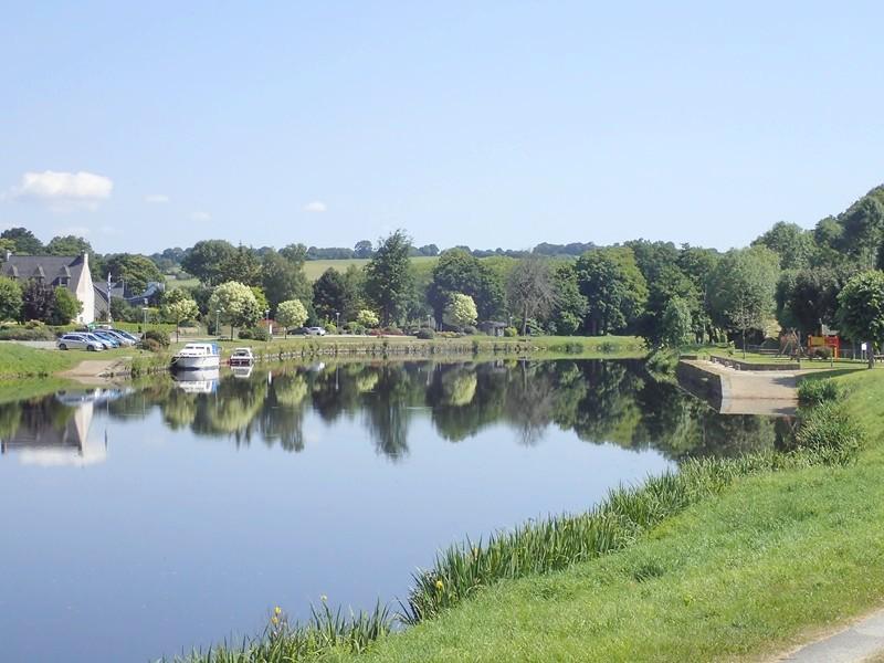 849 - En tandem, le long du Canal de Nantes à Brest !