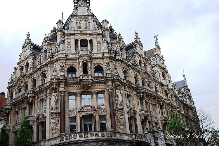 Anvers, vieux quartiers
