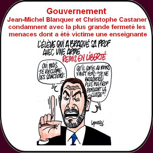 Macron,Castaner et Blanquer sortent le grand jeu .