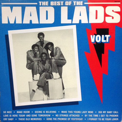 "The Mad Lads : Album "" The Best Of The Mad Lads "" Volt Records SCD-8525-2 [ US ] 1991"