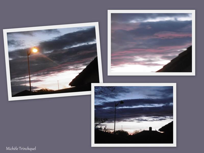 Le ciel au matin du 2 février...