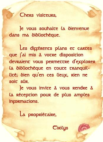 Seuil de la Bibliothèque