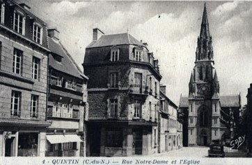 cartes-postales-photos-Rue-Notre-Dame-et-l-Eglise--copie-1