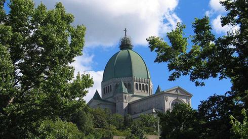 vue du dôme de l'Oratoire St-Joseph - Montréal