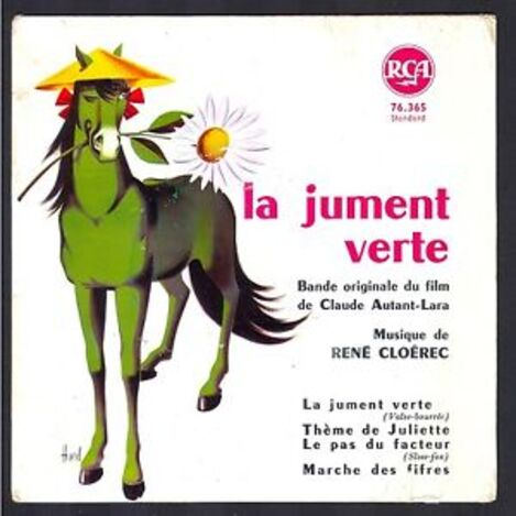 LA JUMENT VERTE -  BOURVIL BOX OFFICE 1959
