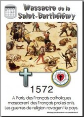 1572 Saint Barthélémy