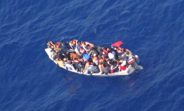 photographie de réfugiés Syriens